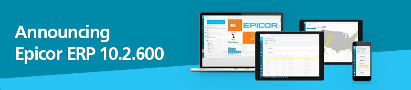 Announcing Epicro ERP 10.2.600